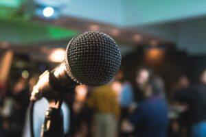 Public speaker as a challenge